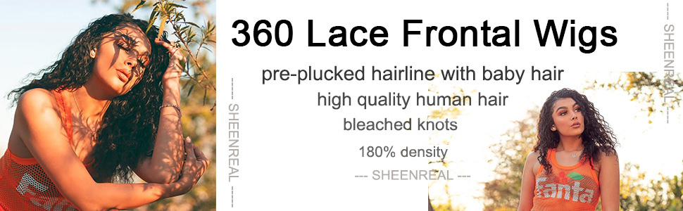 premier 360 lace wig water wave long human hair 180% density