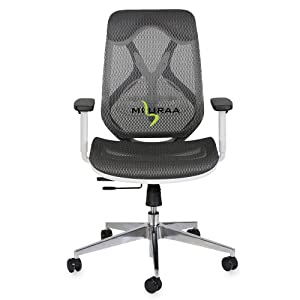 B07SX7JXQD-MISURAA Imported Xenon Mid Back Ergonomic Chair for Office & Home- SPN-FOR1