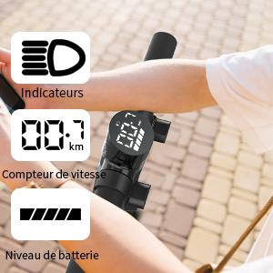 trottinette électrique indicateur