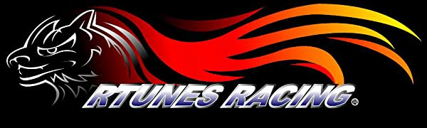Rtunes Racing air intake cold short ram heat filters power