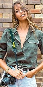 linen shirt casual blouse cotton top women work