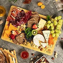 charcuterie boards butcher block, cheese board