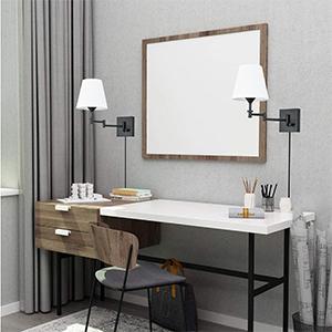 Adjustable Swing Arm Wall Lighting Fixture indoor