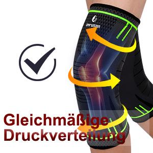 imrusan Kniebandage Kompression Knieschoner, Knieorthese Elastische Sportarten Knieschützer