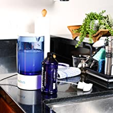 HOCl Generator and Refillable Spray bottle in Kitchen