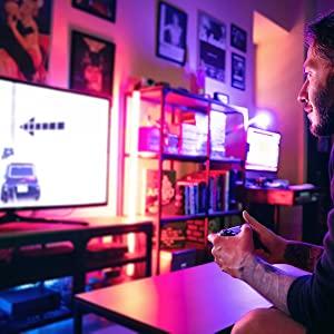 led lights for game room
