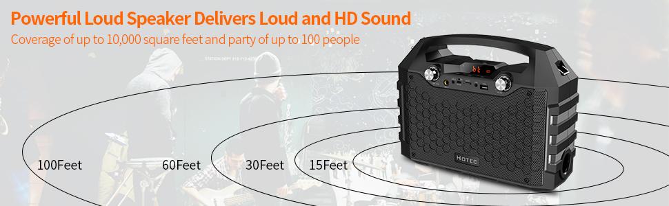 PA powerful loud speaker hd sound