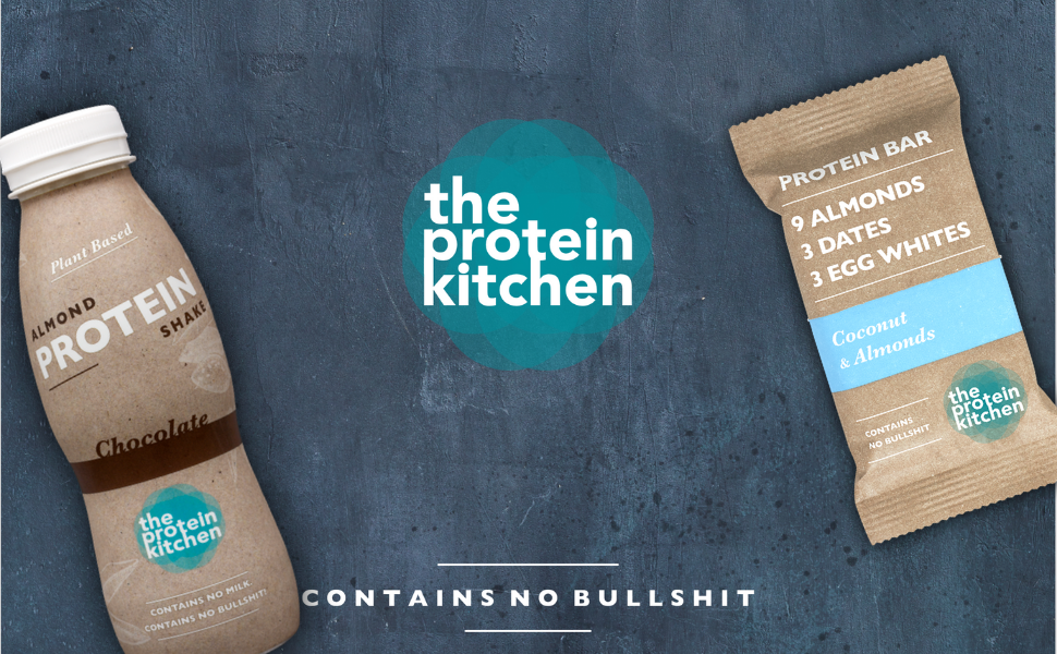 The Protein Kitchen protein bars and shakes