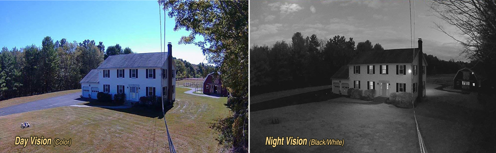 1080p day and night vision