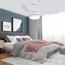 ventilador de techo con iluminación y control remoto silencioso