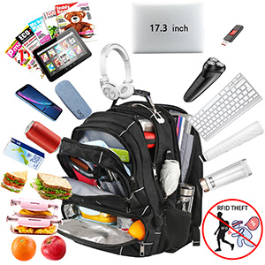 Owns 20+ Independent pockets large business backpack for men/women