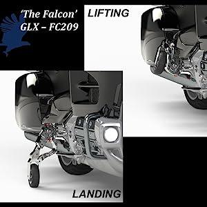 Motorcycle Landing Gear