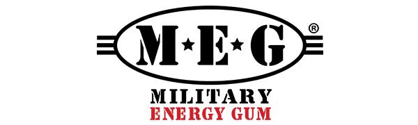 Military Energy Gum Logo