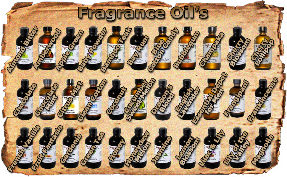 Fragrance Oils A to M