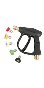 Sooprinse High Pressure Washer Gun,3000 PSI