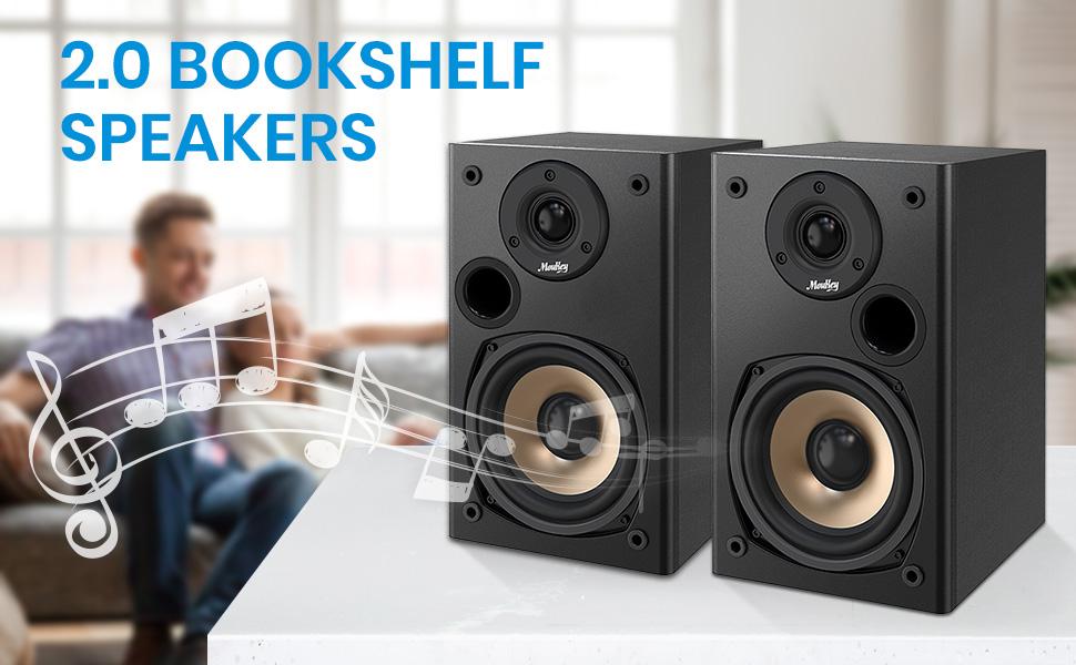 passive bookshelf speakers