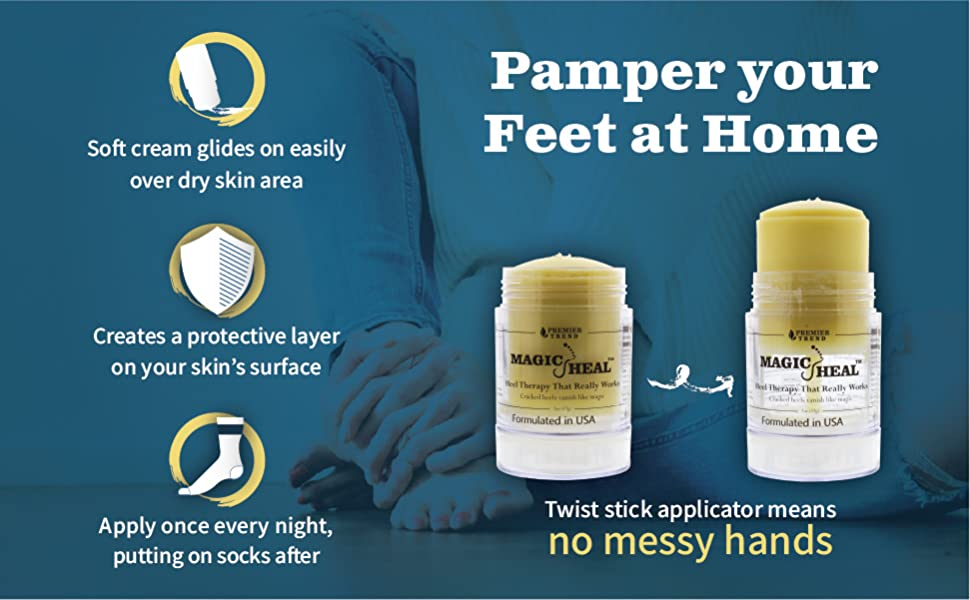 magic heal cracked heel treatment