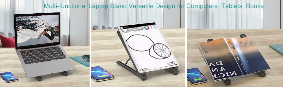 multi functional laptop stand