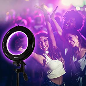 Rainbow Selfie Ring Light 14 RGB