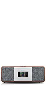 Fm portable internet radio wifi receiver bluetooth 20 presets digital radios alarm clocks bedside cd