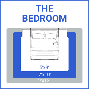 Bedroom area rug guide