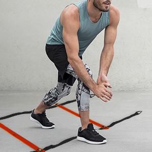Adjustable Rungs Fitness Speed Training Equipment