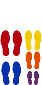 Foot Decals