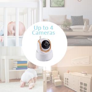 up to 4cameras add on cameras