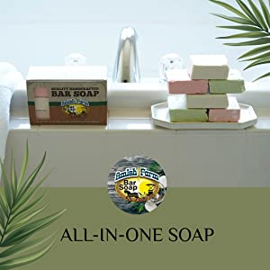 Amish Farm Soap for the whole household