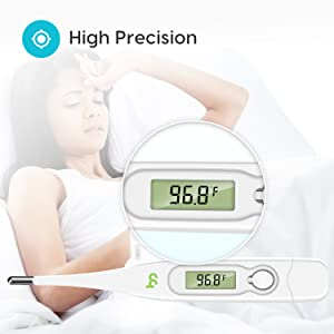 medical oral thermometer for adults