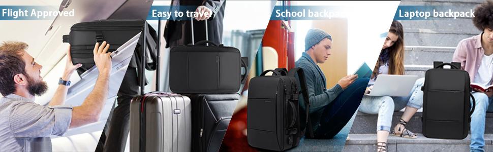 flighe approved travel backpack
