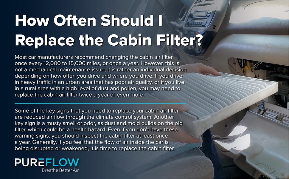 Cabin Air Filter-Particulate Media fits 01-10 Chrysler PT Cruiser 2.4L-L4