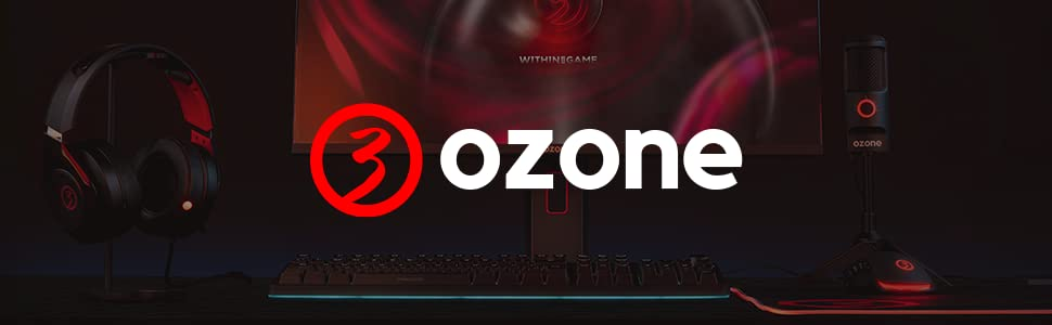 Barra de Sonido Ozone SOLO - Altavoz Pc Gaming - 6W RMS, Portatil, Bluetooth, USB, Jack 3.5, Táctil, RGB, Negro