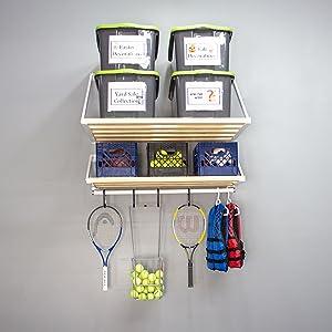 garage storage, garage shelving, garage shelves, home organization, rhino shelf, made in America