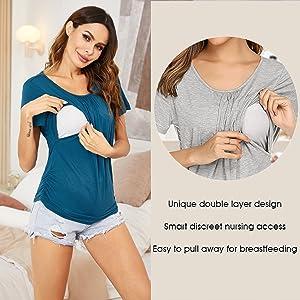 breastfeeding top for women