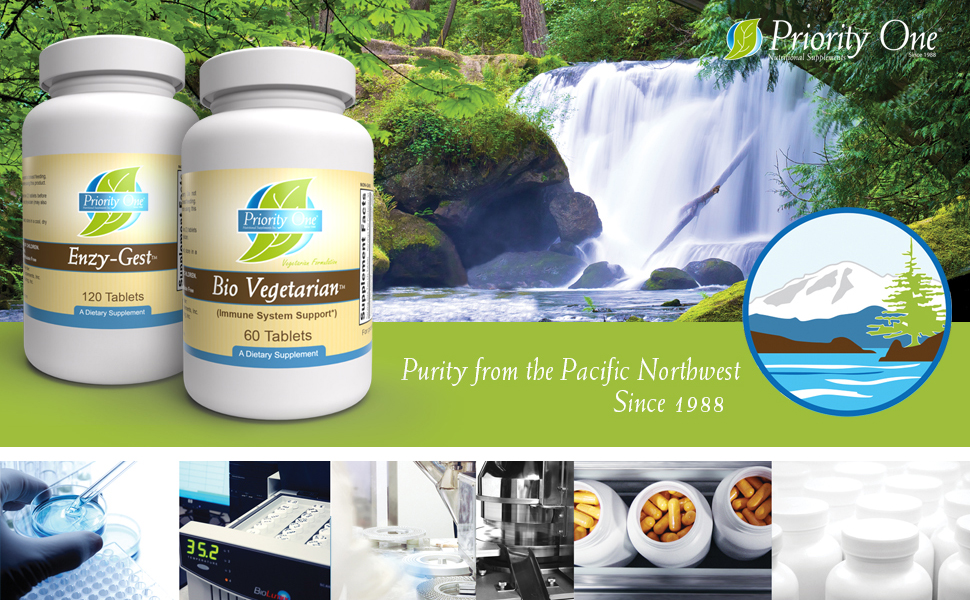 Priority One Nutritional Supplements, Priority One Vitamins