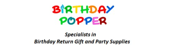Birthday Popper Birthday return gifts for kids in bulk