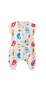 Saco de Dormir Acolchado de Algodón para Bebé para Invierno Bolsa Dormida con Mangas Largas Verano Primavera Otoño Desmontable para Niños 1 año - 3 años: Amazon.es: Ropa y accesorios