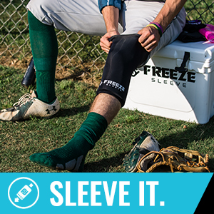Freeze Sleeve, Sleeve It, no sewing, easy application, cold, compression, therapy