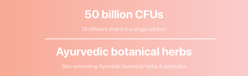 Codeage  - Ayurvedic Herbs, Soil Based Organisms, Shelf Stable Vegan Probiotic Supplement