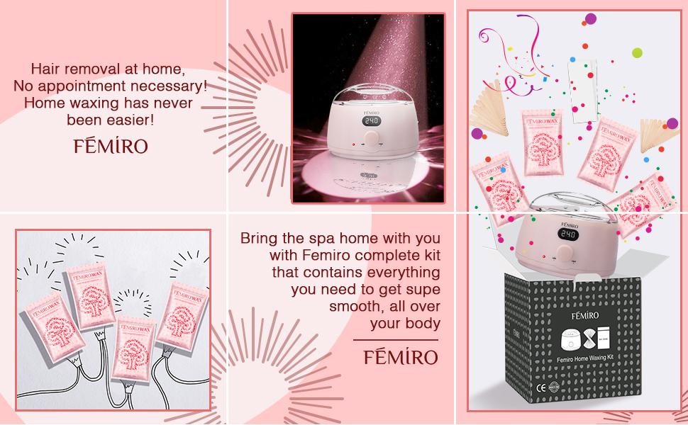 home waxing kit for women