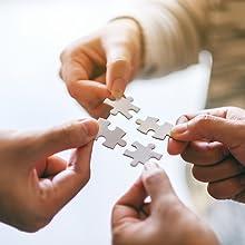 Puzzle verbindet