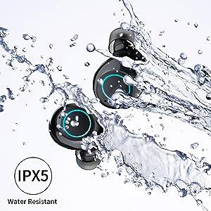 waterproof wireless earbuds bluetooth 5.0 wireless earbuds sport wireless earbuds