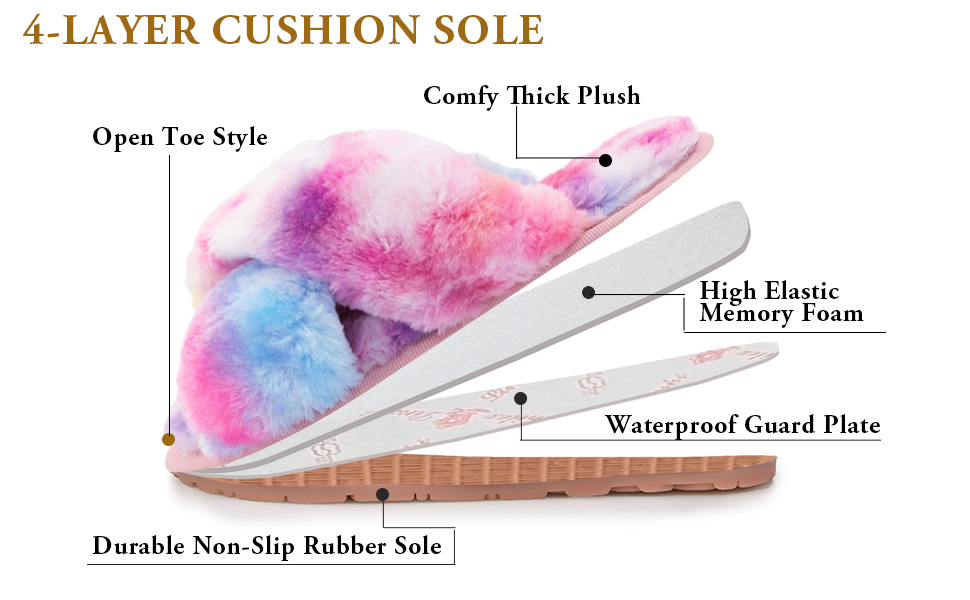 womens non-slip slippers