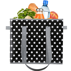 reusable grocery shopping box bags