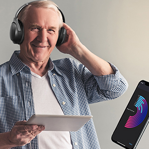wireless headphones for hearing imparied