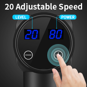 20 adjustable speed