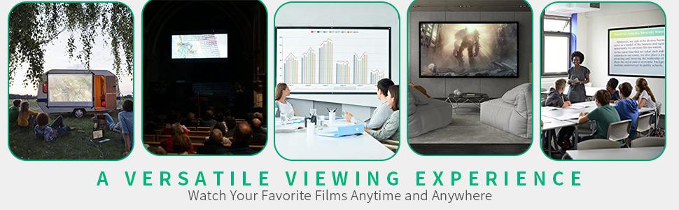 projector screen protable indoor outdoor projector screen
