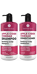 Apple Vinegar shampoo and conditioner