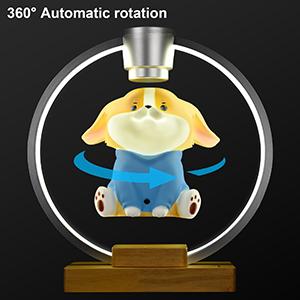 360°Rotating Magnetic Levitating Design